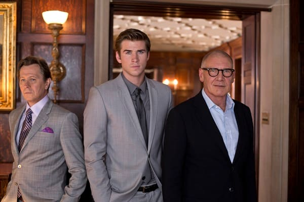 Paranoia Harrison Ford Gary Oldman Liam Hemsworth