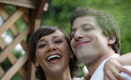 Andy Samberg and Rashida Jones in Celeste and Jesse Forever