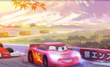 Cars 2 Concept Art