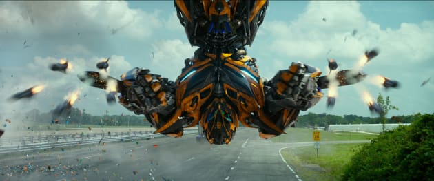 Bumblebee Transformers: Age of Extinction Photo