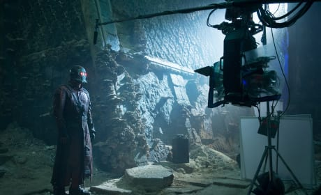 Guardians of the Galaxy Behind the Scenes Star Lord