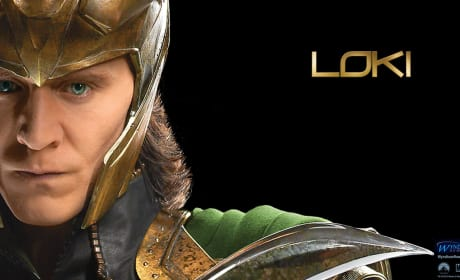 The Avengers Wallpaper: Loki