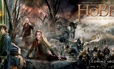 The Hobbit The Battle of the Five Armies Banner: Final Stand From All Sides
