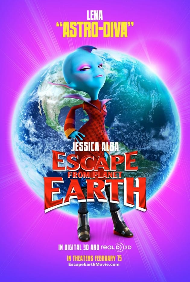 Escape From Planet Earth Lena Poster