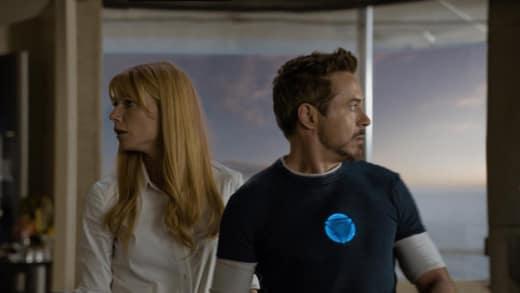 Gwyneth Paltrow Robert Downey Jr. Iron Man 3