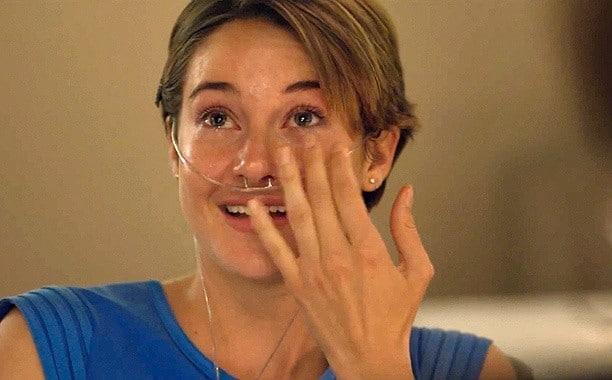 Shailene Sheds a Tear