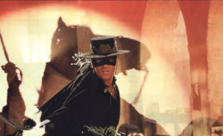 Antonio Banderas is Zorro