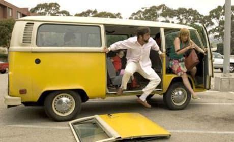 Outta the van!