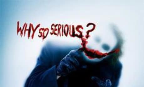 The Dark Knight Movie Poster Asks: Why So Serious?