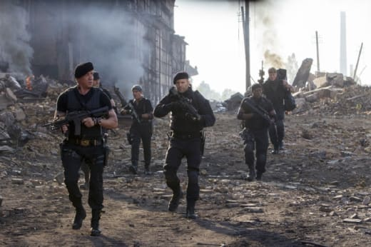 The Expendables 3 Cast in Action