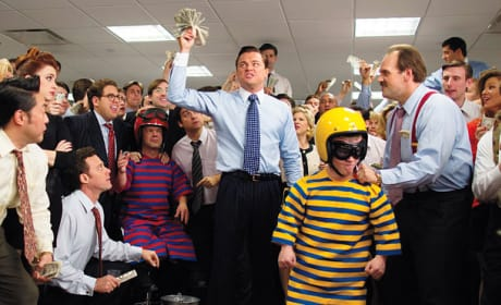The Wolf of Wall Street Photos: Leonardo DiCaprio Does Dwarf Tossing?