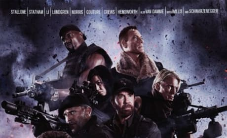 The Expendables 2 Poster Premieres: Action Stars Unite