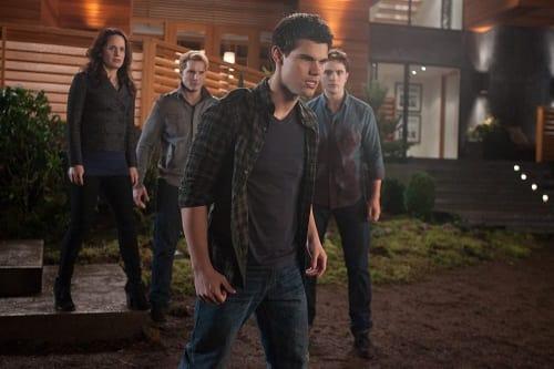 Taylor Lautner is Jacob in The Twilight Saga: Breaking Dawn Part 1