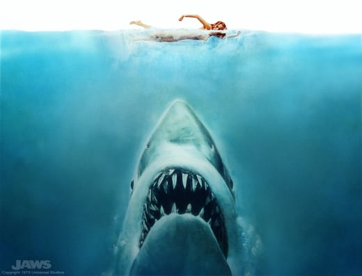 Jaws swimmer