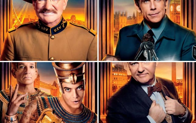 Night at the museum secret of the tomb robin williams poster