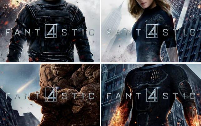 Fantastic four character poster mr fantastic