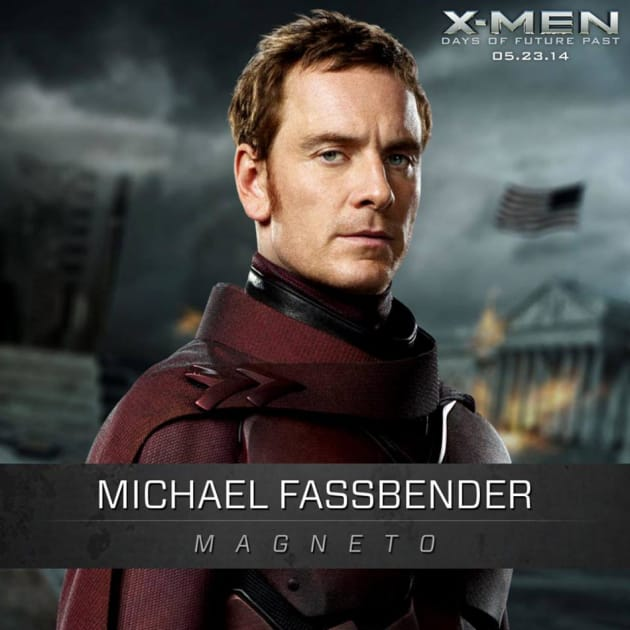 Michael Fassbender is Magneto in X-Men: Days of Future Past