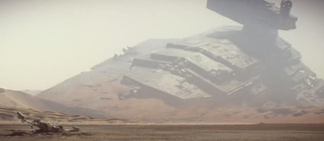Star Wars The Force Awakens Destroyer Photo