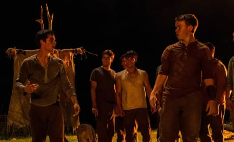 The Maze Runner Dylan O'Brien Will Poulter