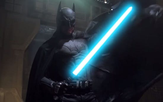Batman Light Saber Photo