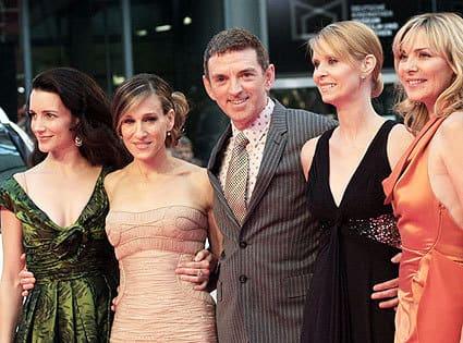 Michael Patrick King and his Ladies