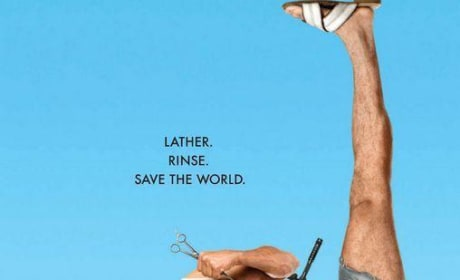 You Dont Mess with the Zohan Movie Poster