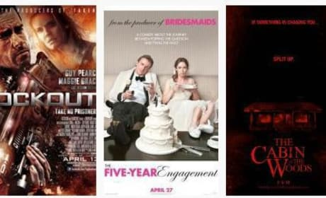 April Movie Poll: Which Film Are You Most Excited For?