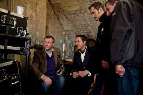Guy Ritchie in Sherlock Holmes: A Game of Shadows