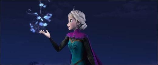 Elsa Sings Let it Go in Frozen