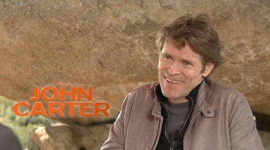 Willem Dafoe Talks John Carter