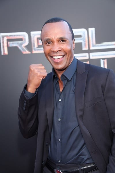 Sugar Ray Leonard at the Real Steel Premiere