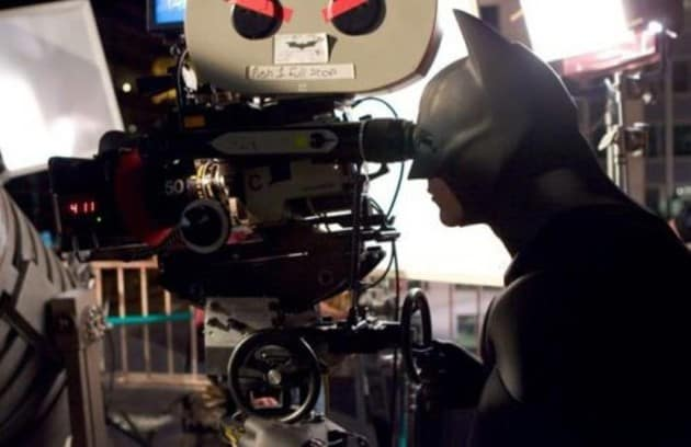 Batman Begins Set Photo
