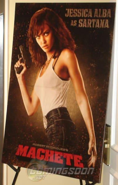 Jessica Alba Machete Poster
