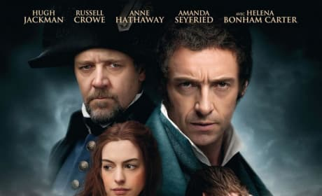 Les Miserables French Poster: All the Characters Together