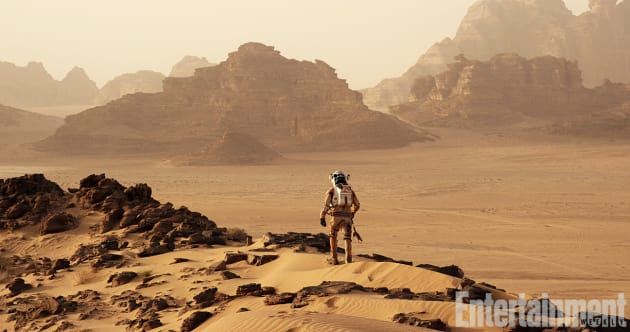 The Martian Still