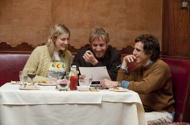 Florence, Ivan, and Roger Laugh Over Dinner