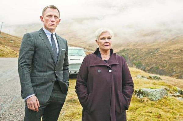 Daniel Craig Judi Dench Skyfall