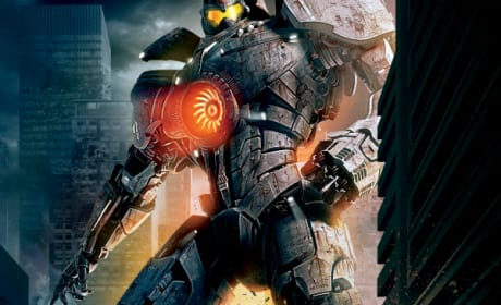 Pacific Rim Poster: Go Big or Go Extinct