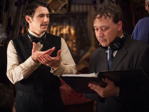 Sam Raimi James Franco Oz The Great and Powerful