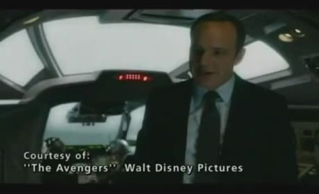 The Avengers Clip: Coulson and Cap
