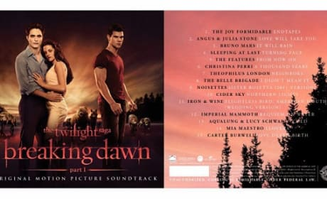 Breaking Dawn Soundtrack Led By Bruno Mars' It Will Rain