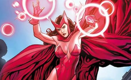 "Avengers Age of Ultron: Elizabeth Olsen on ""Different"" Scarlet Witch Costume"