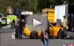 Bumblebee Crash on DC Set