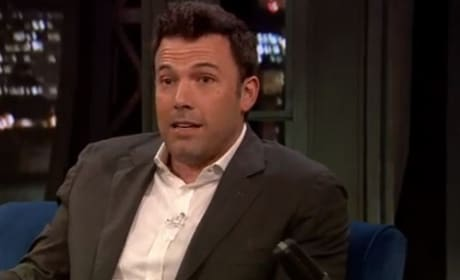 Ben Affleck Dishes Being Batman!