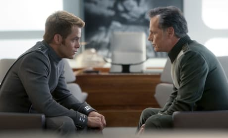 Star Trek Into Darkness Chris Pine Bruce Greenwood
