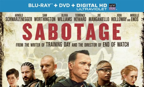 Sabotage Exclusive Giveaway: Win Arnold Schwarzenegger's Latest Blu-Ray!