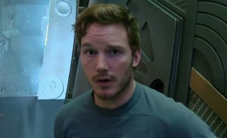 Chris Pratt Guardians of the Galaxy Behind-the-Scenes