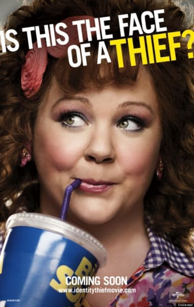 Identity Thief Melissa McCarthy Poster