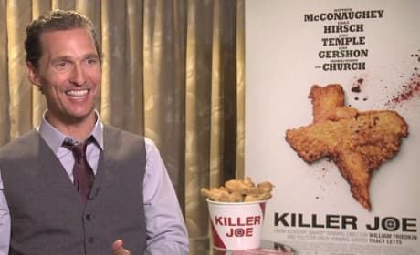 Matthew McConaughey Interview Picture