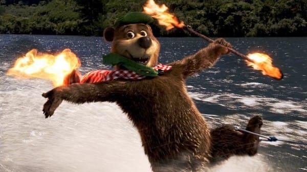 Flaming Bear